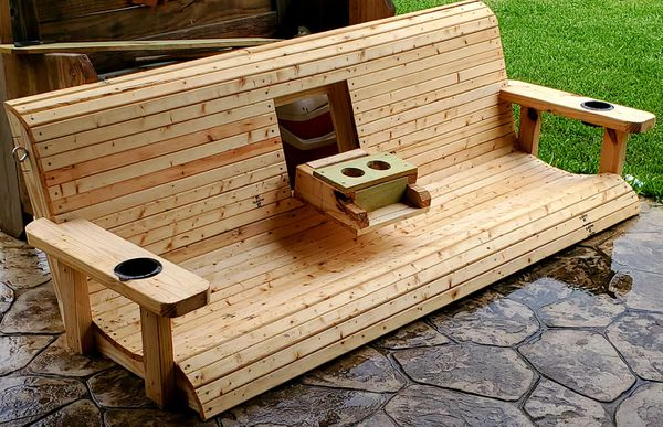 6ft porch /patio swing