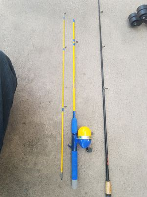 2 Fishing Poles ,1 Reel. for Sale in Mesa, AZ