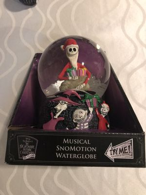 Nightmare Before Christmas Snow Globe/Music Box for Sale in Farmingdale, NY