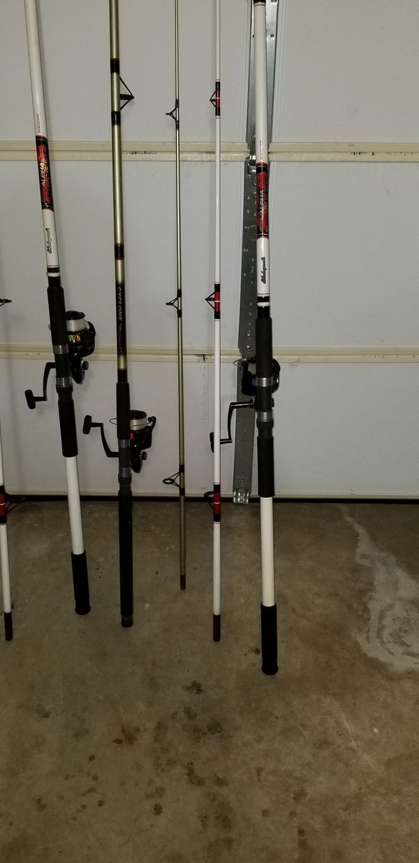 Deep sea fishing rods and reels