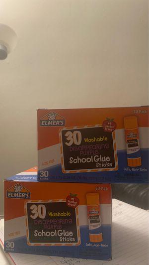 Elmer's glue sticks (box of 30) for Sale in Lynwood, CA