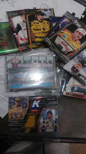 Nascar cards mix 1 patch serial # card for Sale in Balfour, ND