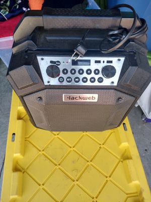 Blackweb Party Bluetooth Speaker for Sale in Charlotte, NC