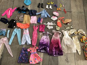 Barbie clothes and shoes for Sale in Antioch, CA