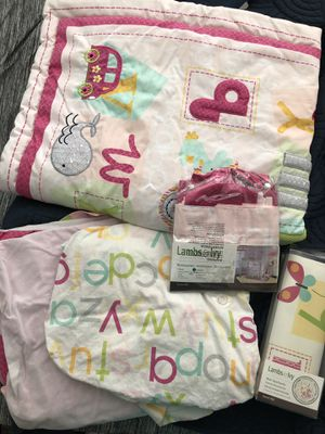 Crib bedding set for Sale in Mesquite, TX
