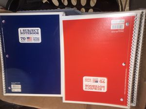Notebooks for Sale in Fontana, CA