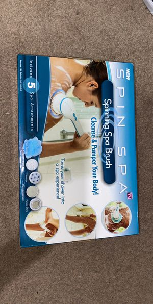 Spinning Spa Brush for Sale in Indianapolis, IN