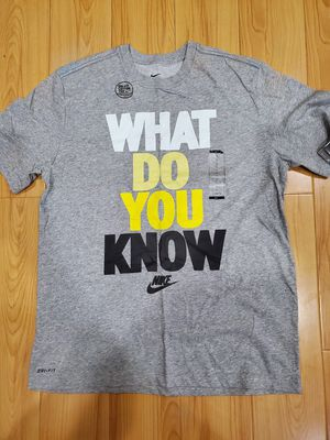 "Vintage Mens Nike Training ""What Do You Know"" Tee Shirt size Large for Sale in El Monte, CA"