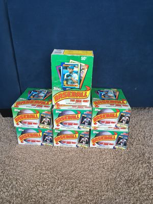 1990 Baseball cards packs boxes for Sale in North Olmsted, OH