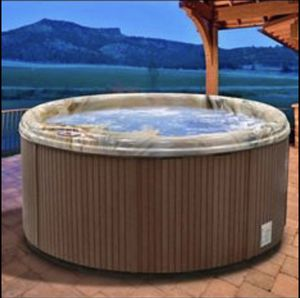 endeavor 6-person 100 jet hot tub WAS $4700 NOW $2200 ONLY Like NEW From WAYFAIR for Sale in La Vergne, TN