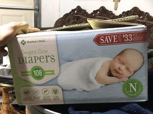 Members mark newborn diapers for Sale in Santa Ana, CA