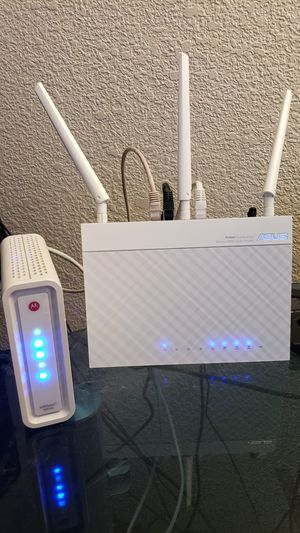 Cable Modem & Wireless Router for Sale in Sacramento, CA