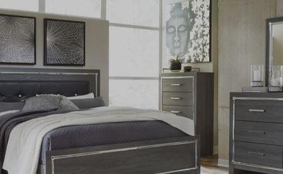 SPECIAL] Lodanna Gray LED Panel Bedroom Set by Ashley for Sale in Arlington,  VA