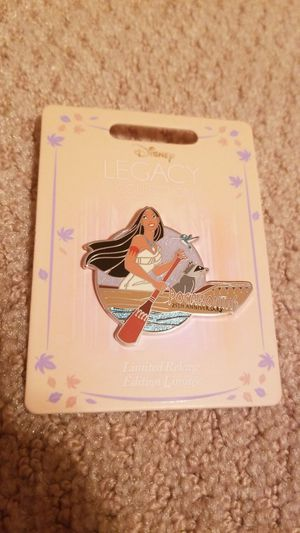 Disney Pocahontas 25th Anniversary Pin - Limited Release- Legacy Collection for Sale in Lakewood, CA