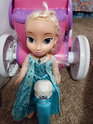Disney frozen singing along with doll for Sale in Baltimore, MD