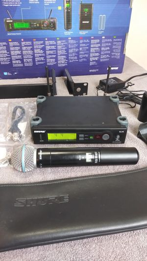 Shure sm58A wireless microphone for Sale in Los Angeles, CA
