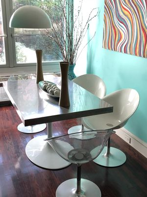 Used, Modernist Saarinen + Starck Dining Room Set for Sale for sale  New York, NY