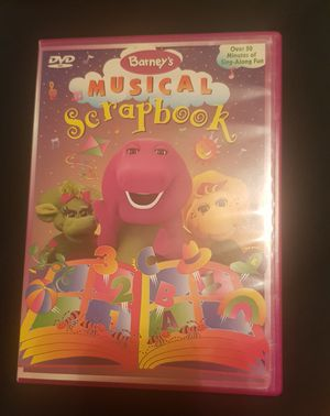 Barney's Musical Scrapbook DVD for Sale in Columbia, SC