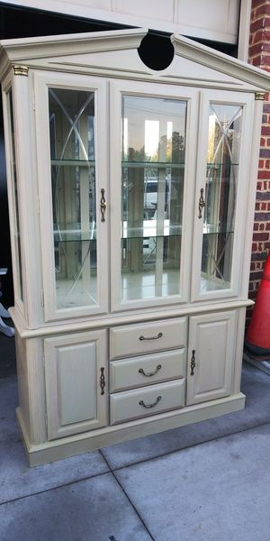 Master design kitchen cabinet ..previously painted but it still beautiful all drawers functional and light. 500 OBO.. for Sale in Portsmouth, VA
