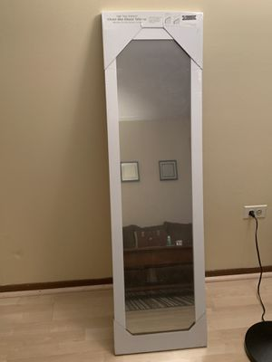 Over the Door white mirror 12x48 I have 5 available for Sale in Prospect Heights, IL