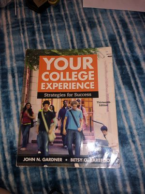 YOUR COLLEGE EXPERIENCE TEXTBOOK for Sale in Los Angeles, CA