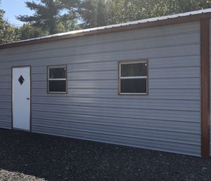 New 24' x 26' x 9' Steel Metal Garage for Sale in Rehoboth, MA