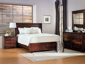 Bedroom set - Tuft & Needle mattress, Living Spaces bed frame, dresser for Sale in Santa Monica, CA