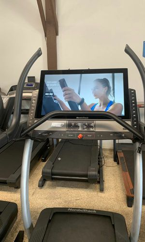 Below wholesale prices on our NordicTrack X32i incline trainer treadmill for Sale in Palos Verdes Estates, CA