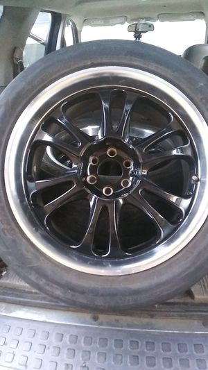 20inch rims and tires for Sale in Modesto, CA
