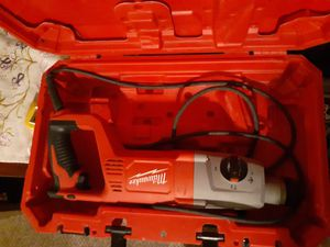 Like new Milwaukee sds plus rotary hammer for Sale in Collinsville, IL