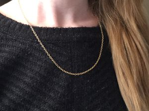 2 Identical 14kt Gold Chain Necklaces for Sale in Colorado Springs, CO