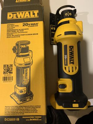 DEWALT 20-Volt MAX Cordless Drywall Cut-Out Tool (Tool-Only) NEW for Sale in Woodridge, IL