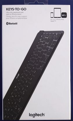 Logitech Keys-To-Go Portable Keyboard Brand New for Sale in Los Angeles,  CA