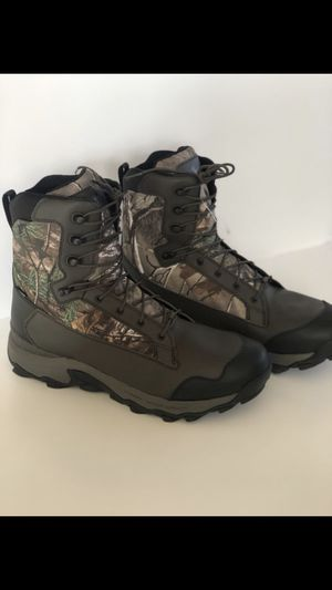 """Under Armour Tanger Waterproof Hunting Boots 9"""" Lightweight Men Size 12.5 for Sale in Garden Grove, CA"""