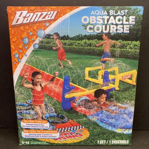 Banzai Obstacle Course water slide NEW for Sale in Corona, CA