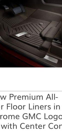 Gmc All Weather Premium Floor Mats for Sale in San Antonio,  TX