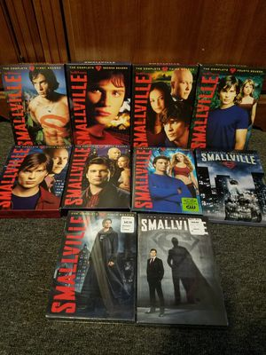 DVD Smallville Complete season 1-10 for Sale in The Bronx, NY