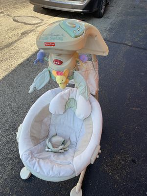 Fisher price baby cradle rocker. Great shape for Sale in Washington, PA