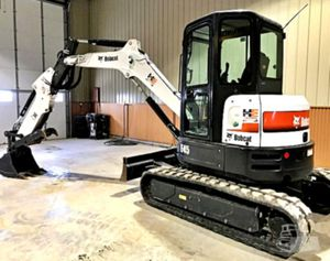 _'17_BOBCAT E45 ENCLOSED CAB for Sale in Morgantown, WV