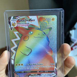 Pikachu Rainbow Vmax Psa10? NO LOW BALLS for Sale in Hollywood, FL