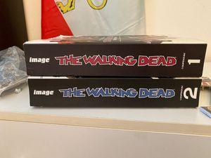 walking dead books/ series 1&2 for Sale in Yorba Linda, CA