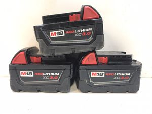 M18 18-Volt Lithium-Ion XC Extended Capacity Battery 3.0Ah for Sale in Bakersfield, CA