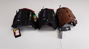 Softball /baseball gloves for Sale in Riverside, CA