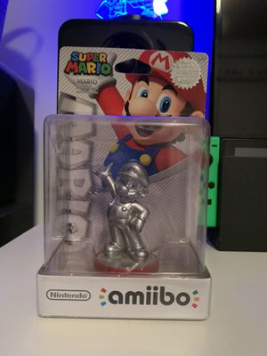 Silver Mario Amiibo for Sale in Carlsbad, CA