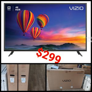 VIZIO 4K SMART TV 55 INCH HIGH QUALITY TV NETFLIX VIZIO HOME THEATER DISPLAY NEW for Sale in Anaheim, CA