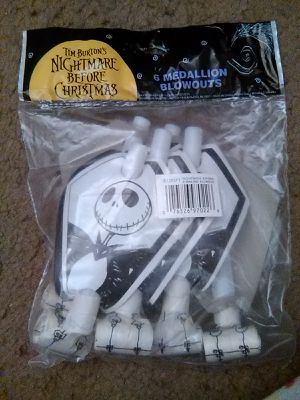 Nightmare before Christmas party blowouts for Sale in Fresno, CA