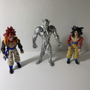 Dragonball Z Figures (set of 3) from 2004 for Sale in Monterey Park, CA