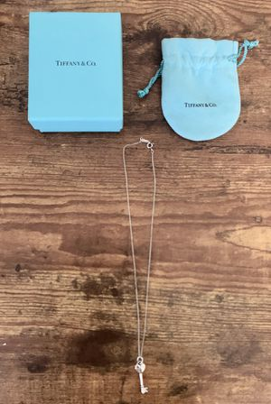 Tiffany & Co Key Necklace for Sale in Dallas, TX