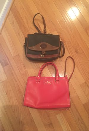 Kate Spade Handbag and Dooney Crossbody for Sale in Midlothian, VA