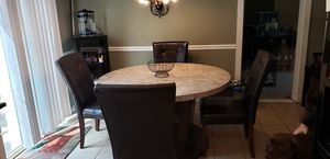Marble Kitchen Table for Sale in Monroe Township, NJ